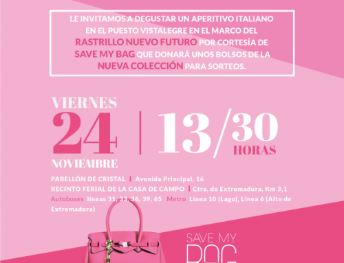 EVENTO SAVE MY BAG MADRID